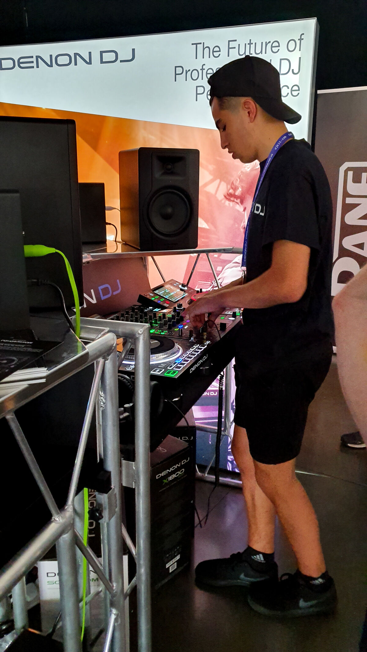 Caption: The DJ Show 2019 - Denon DJ