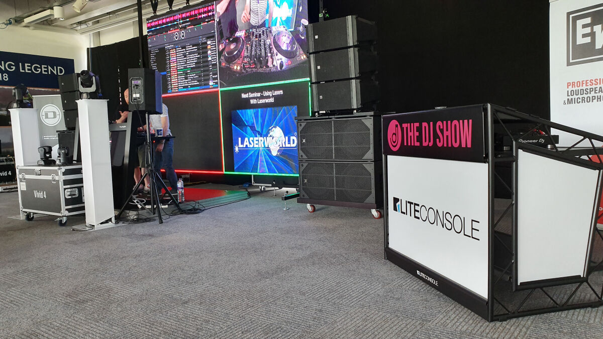Caption: The DJ Show 2019 - Seminars / Liteconsole