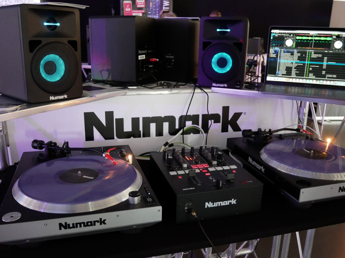 Caption: The DJ Show 2019 - Numark