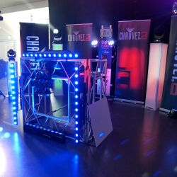 Caption: The DJ Show 2019 - Chauvet DJ